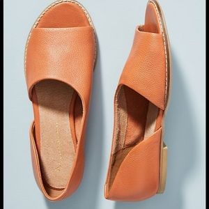 Anthropologie Souvenir flats new 7.5